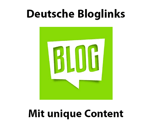 Blog Links kaufen ab 13,50 Euro