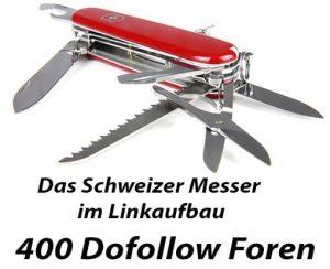 Backlinks aufbauen mit unserer Dofollow Forenliste