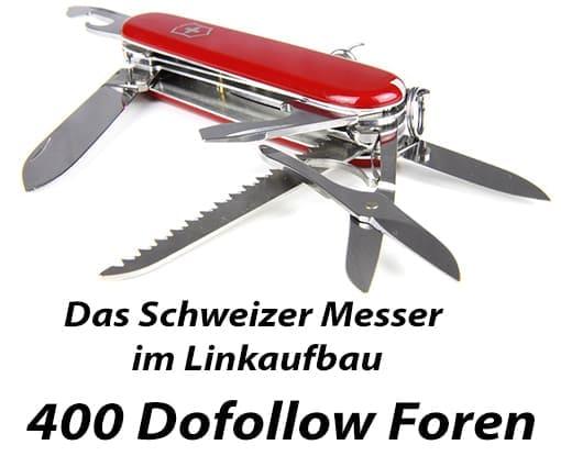 Dofollow Forenliste - 400 deutsche Foren
