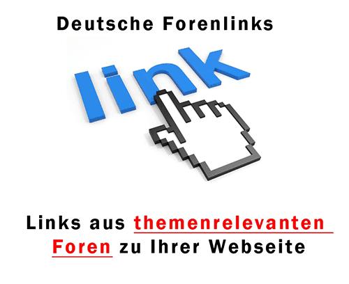 Deutsche Forenlinks kaufen